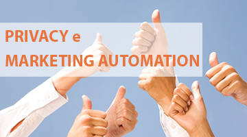 privacy e marketing Automation