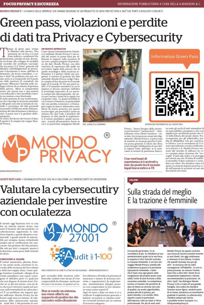 GreenPass-e-LeggePrivacy-articolo-di-Repubblica-settembre-2021
